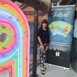 Kim Arnold london tarot festival