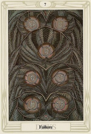 The 7 of Discs in The Luna Sol Tarot - Liminal 11