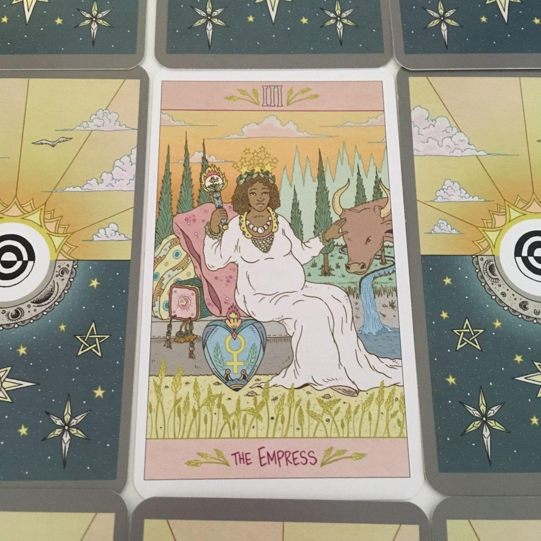The Empress in The Luna Sol Tarot - Liminal 11