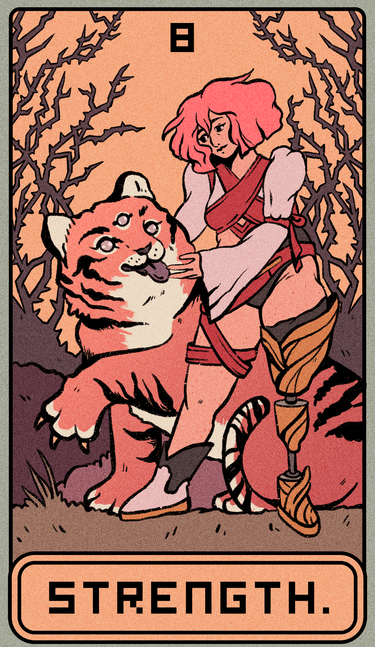 Tales of the Tarot: Chapter 8 - Strength - Liminal 11