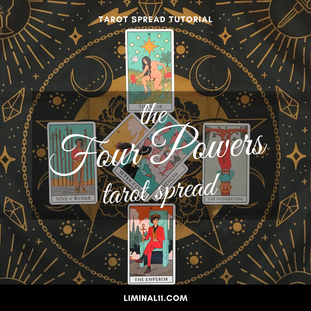 four powers tarot spread