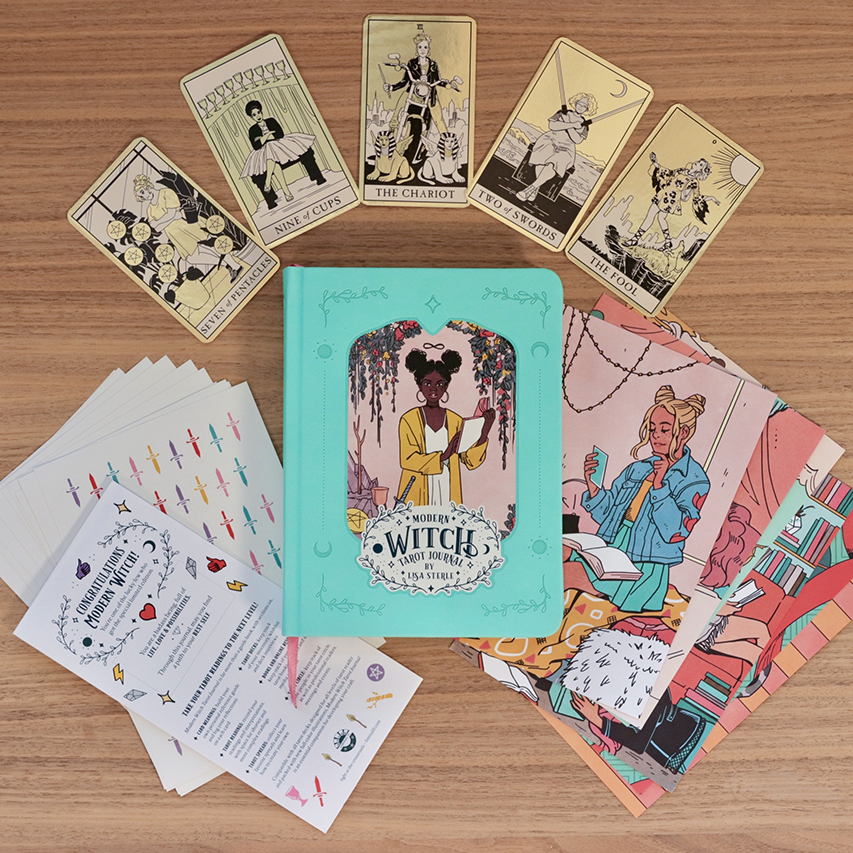 Modern Witch Tarot Journal by Lisa Sterle