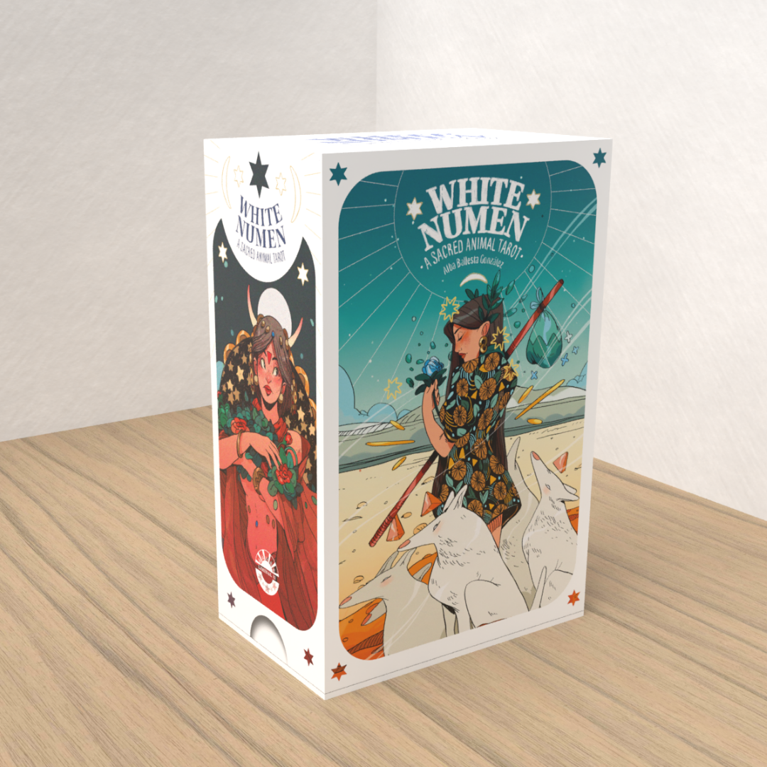Learn about what's coming soon: White Numen: A Sacred Animal Tarot, 2021 Decks.