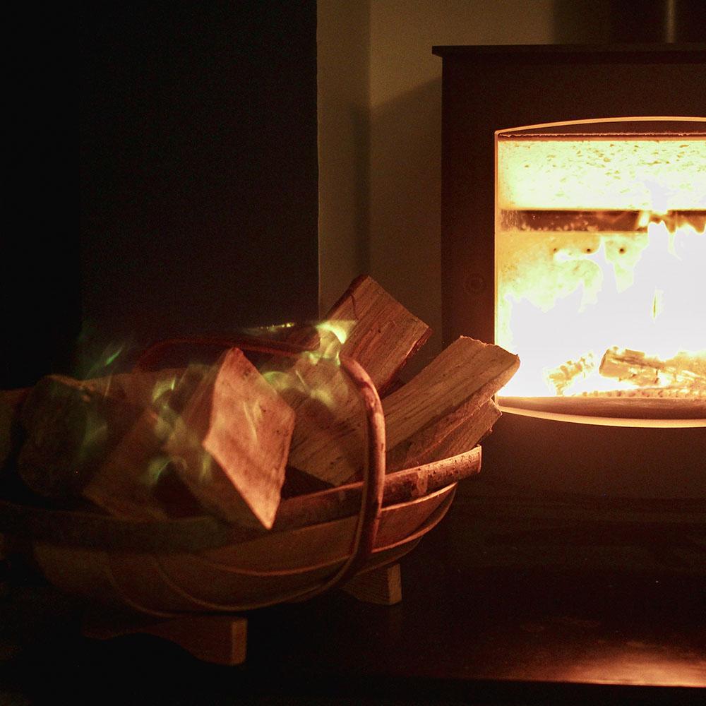 A cosy Samhain fire