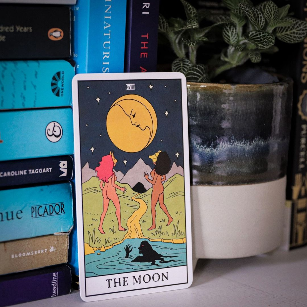 Intuitive tarot readings: The Moon from Modern Witch Tarot
