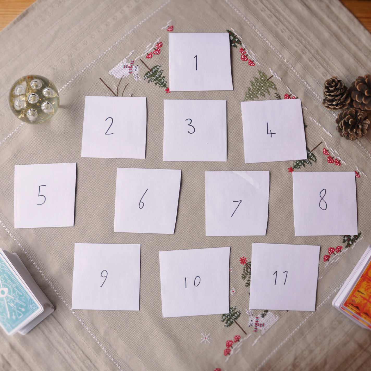 11 days of Yuletide tarot reading