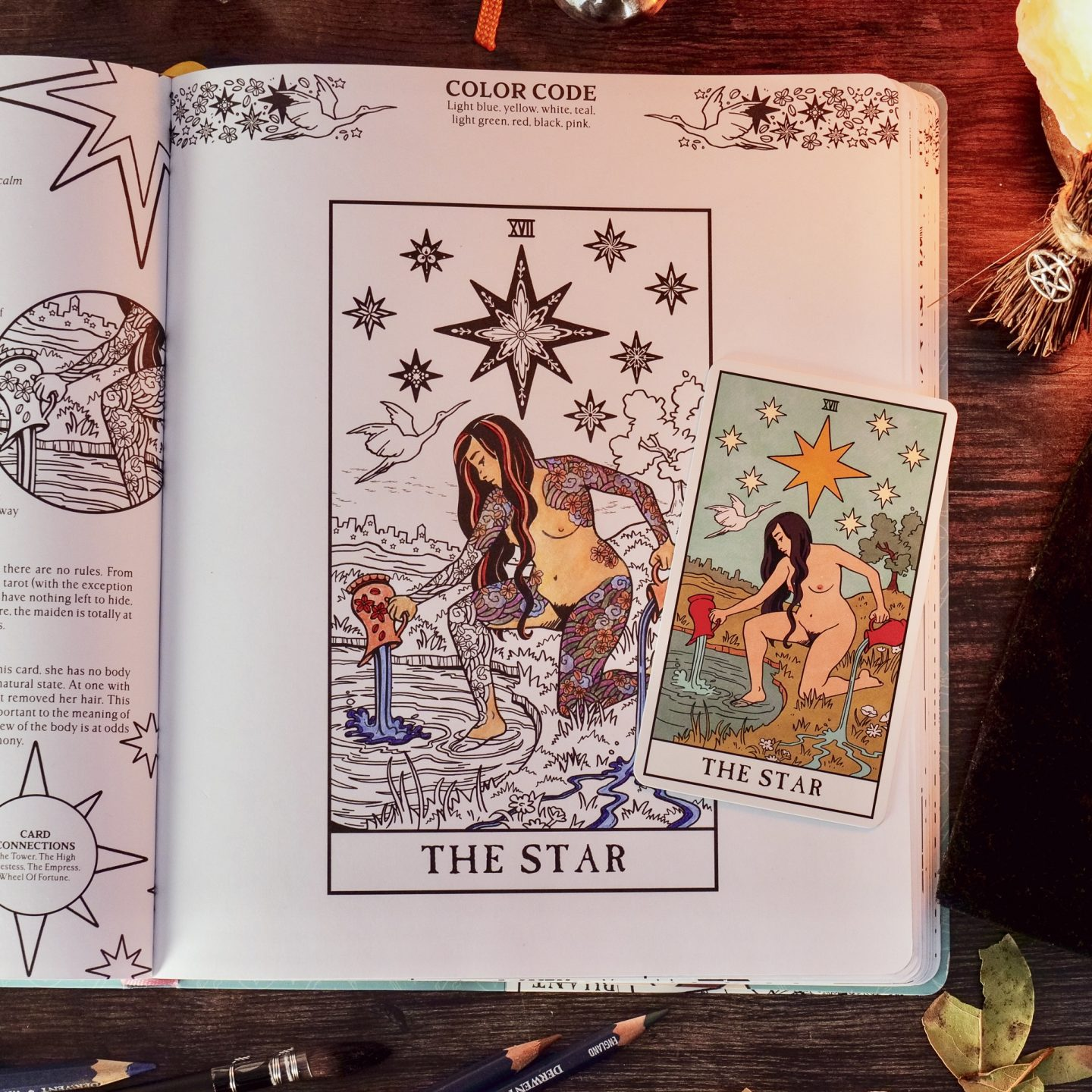 A Look Inside The Modern Witch Coloring Book Liminal 11