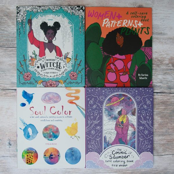 Coloring + Activity Books